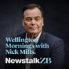 Wellington Mornings with Nick Mills artwork