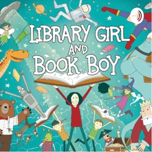 Library Girl and Book Boy
