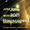 June 2021 Horoscopes artwork