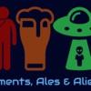 Ailments, Ales and Aliens artwork