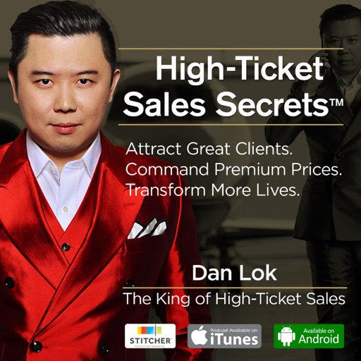Cover image of High Ticket Sales Secrets | Coaching & Consulting Business / Personal Branding / Sales Training / Marketing / Get Clients