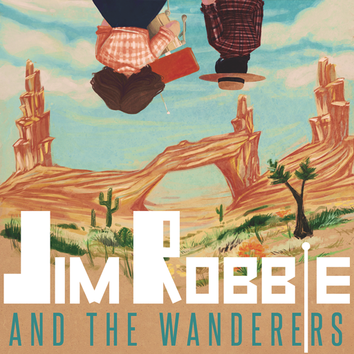 Cover image of Jim Robbie and the Wanderers