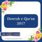 Dawrah e Qur'an 2017-Karachi