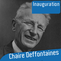 Inauguration de la chaire Deffontaines podcast