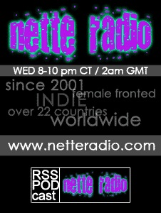 NetteRadio - from piano to punk the best unsigned women artists in the world