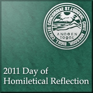 Day of Homiletical Reflection 2011
