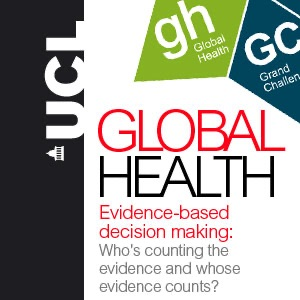 Evidence-based decision making: Who's counting the evidence and whose evidence counts? - audio