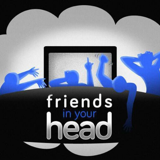 Friends In Your Head banner backdrop