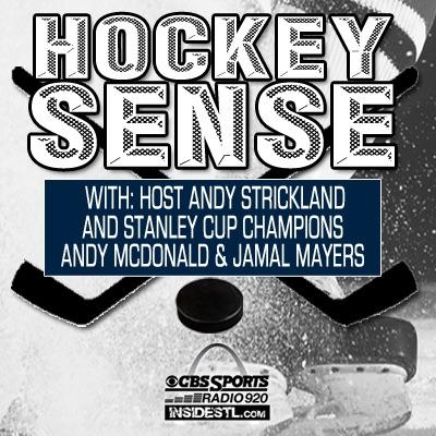Hockey Sense w/ Andy Strickland, Andy McDonald and Jamal Mayers on CBS Sports 920AM