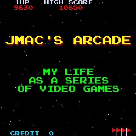 Jmac's Arcade