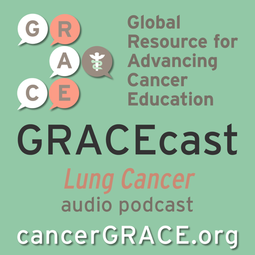 Cover image of GRACEcast Lung Cancer Audio