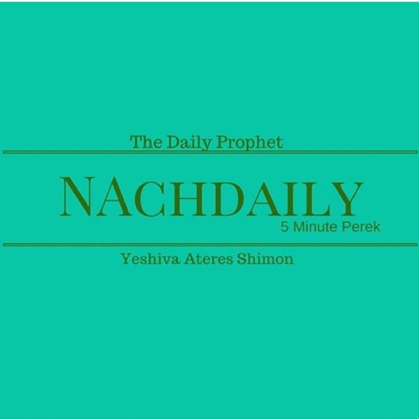 NachDaily: 5 Minute Perek of Tanach covering the entire Navi. Sefer Yehoshua, Shoftim, Shmuel, Melachim, Yeshaya, Yirmiya, Yechezkel, Hoshea, Yoel, Amos, Ovadya,Yona, Micha, Nachum, Chabakuk, Tzefania, Chagai, Melachi, Zecharya and Tehilim