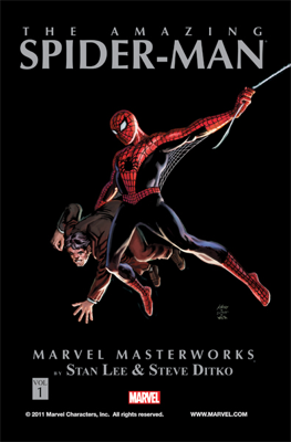 Marvel Masterworks: The Amazing Spider-Man, Vol. 1 - Stan Lee, Steve Ditko & Jack Kirby book