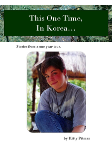 This One Time, In Korea... Book Review