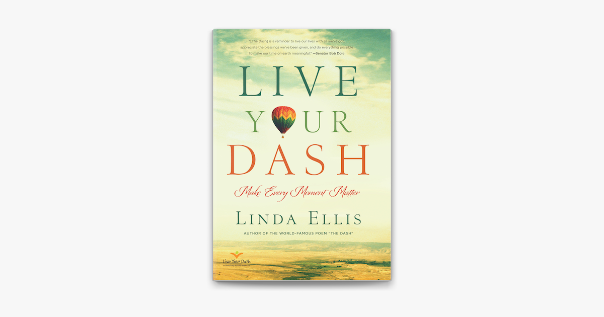 Live Your Dash On Apple Books Making a difference with your life as want to read apple books apple