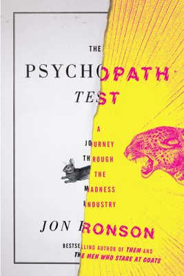 The Psychopath Test - Jon Ronson book