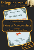 La Scienza in Cucina e l'Arte di Mangiar Bene Book Cover