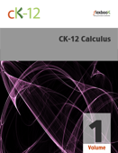 CK-12 Calculus, Volume 1