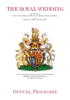 The Foundation of Prince William and Prince Harry - The Royal Wedding - Official Souvenir Programme artwork