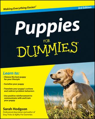 Puppies For Dummies - Sarah Hodgson book