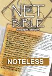 NET Bible First Edition (noteless)