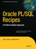 Oracle and PL/SQL Recipes