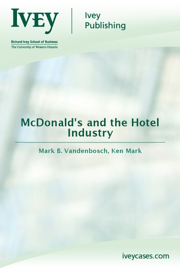 McDonald's and the Hotel Industry