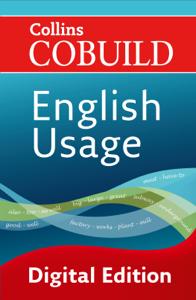 English Usage Copertina del libro