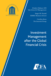 Investment Management after the Global Financial Crisis book