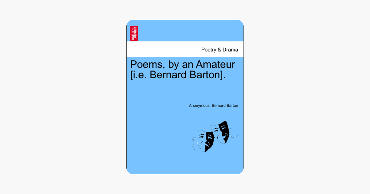 ‎Poems, by an Amateur [i e  Bernard Barton]