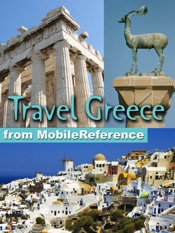 Greece, Athens, Mainland, and Greek Islands Travel Guide: Illustrated Travel Guide, Phrasebook and Maps (Mobi Travel)