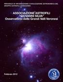 Opuscolo Associazione Astrofili Legnago Febbraio 2012
