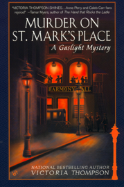 Murder on St. Mark's Place book