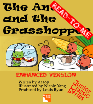 The Ant and the Grasshopper (Read to Me) - Louis Byun, Nicole Yang & Aesop book