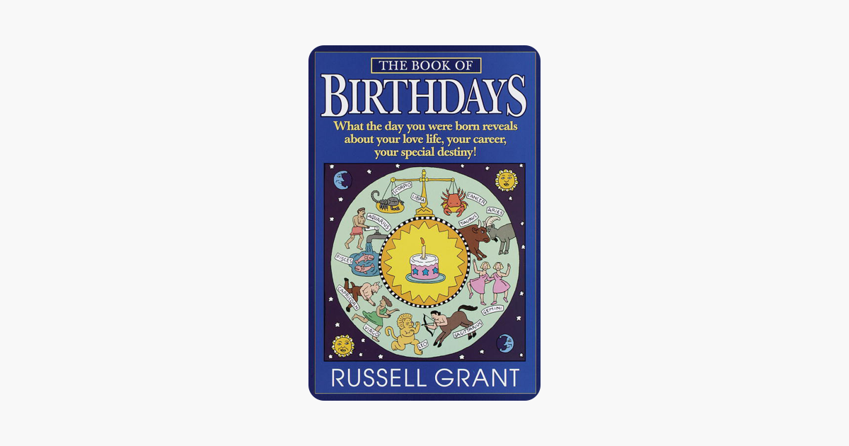 The Book of Birthdays - Russell Grant