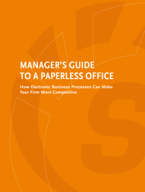 Manager's Guide to a Paperless Office book