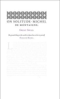 On Solitude