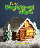 Easy Gingerbread Cabin