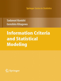 Information Criteria and Statistical Modeling book
