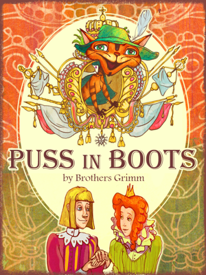 Puss In Boots - The Brothers Grimm book