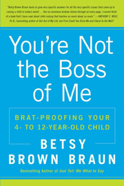 You're Not the Boss of Me book