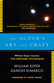 The Actor's Art and Craft book