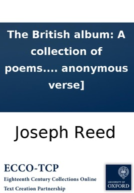 The British album: A collection of poems  [Three lines of