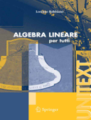 Algebra lineare Book Cover