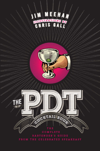 The PDT Cocktail Book La couverture du livre martien