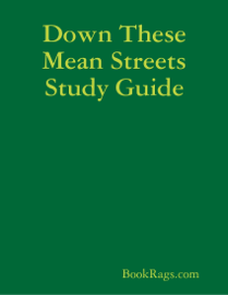 Down These Mean Streets Study Guide book