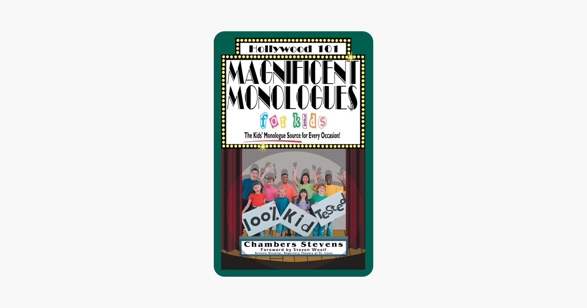 Magnificent Monologues for Kids (Hollywood 101)