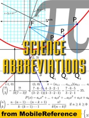 Dictionary of one letter abbreviations used in mathematics and physics