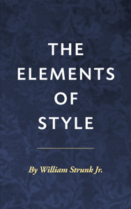 The Elements of Style ebook