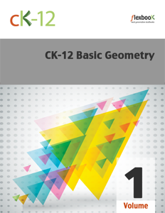 CK-12 Basic Geometry, Volume 1 of 2 Book Review